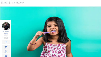 Pediatric Oral Health During And After The COVID-19