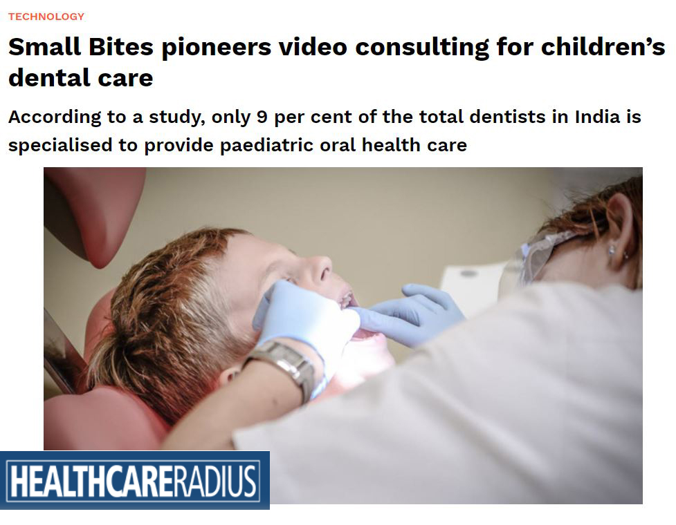 Small Bites pioneers video consulting for children's dental care