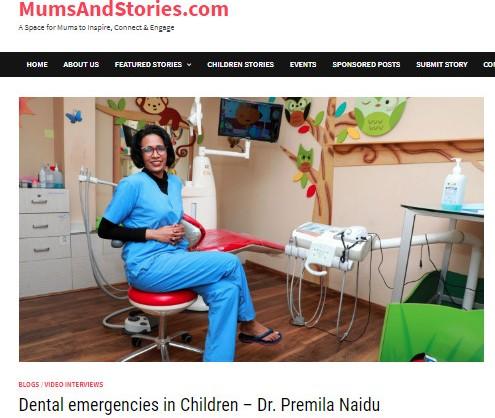 dental emergencies in children